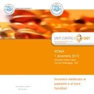 Programma - Associazione Italiana GIST