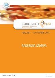 RASSEGNA STAMPA - Associazione Italiana GIST