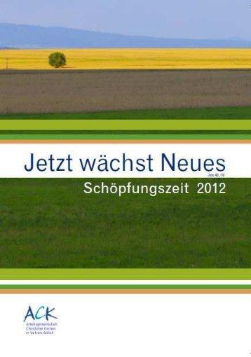Jetzt wächst Neues - Lothar Kreyssig - Ökumene-Zentrum