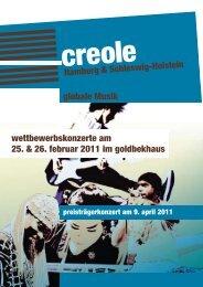 Programmheft zum Download (PDF 824 KB) - Creole
