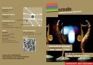 creole Programmheft 2011