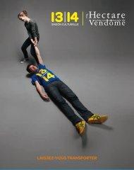 Saison 13/14 - Avant-Programme - L'Hectare