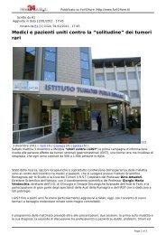 Articolo di Forlì 24Ore - Associazione Italiana GIST
