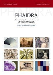 Il sistema di gestione e archiviazione delle collezioni ... - Phaidra