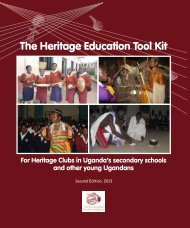 The Heritage Education Tool Kit - Cross-Cultural Foundation of ...