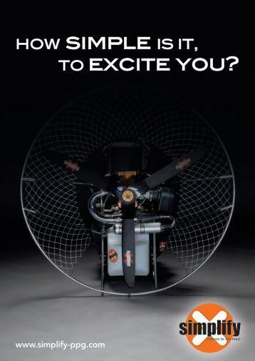 Simplify Paramotor EN 2015