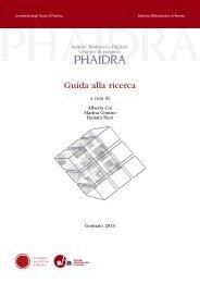 2. risultato delle ricerca - Phaidra - Università degli Studi di Padova