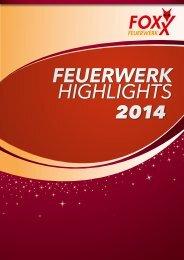 FEUERWERK HIGHLIGHTS