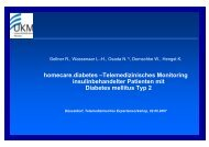 homecare.diabetes –Telemedizinisches Monitoring ...