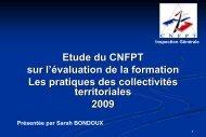 Colloque « L'évaluation régionale d'emploi et de formation ...