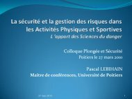 Diapositive 1 - Université de Poitiers