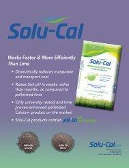 SOLU-CAL Enhanced Calcitic Lime