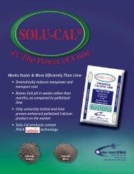 Solu-Cal ® Tear Sheet