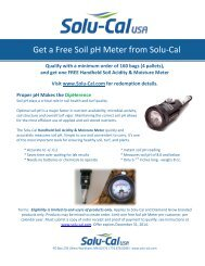 pH Meter Promotion Redemption Form - Solu-Cal