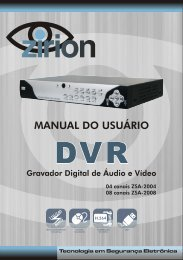 MANUAL DVR 8 CANAIS DEFINITIVO - Zirion