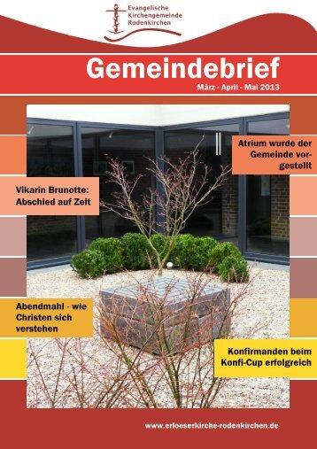 Gemeindebrief - erloeserkirche-rodenkirchen.de