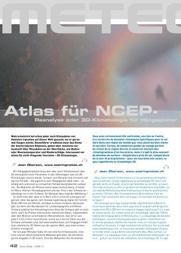 Atlas für NCEP- - Soaringmeteo