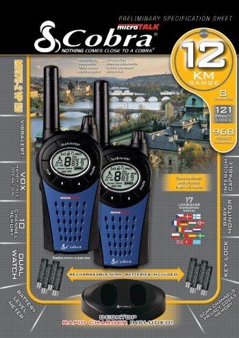 MT975EU _PRELIM_SPEC.qxd:Layout 1 12/12/07 12:56 PM Page 1