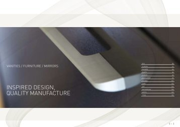 INSPIRED DESIGN, qUALITY MANUFACTURE - Robertson
