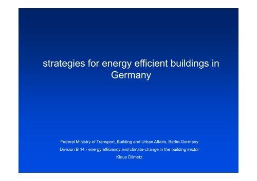 BMVBS_Dilmetz_strate.. - Energy Efficiency Projects in Ukraine
