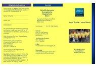 Flyer - Evangelische Schulstiftung