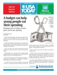 Budget can help young people