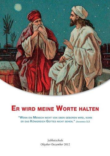 ER WIRD MEINE WORTE HALTEN - MHA
