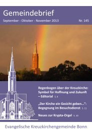 Nr. 145 zum Download. - Kreuzkirche Bonn