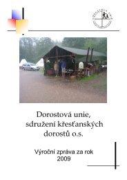 Výroční zpráva DU 2009.pdf - Dorostová unie