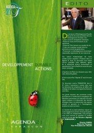 developpement durable actions - Tarascon