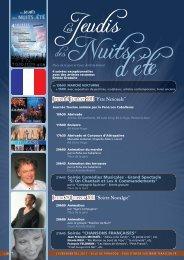 "JEUDI 28 JUILLET 2011 ""Soirée Nostalgie"" - Tarascon"