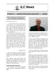 view - International Lutheran Council