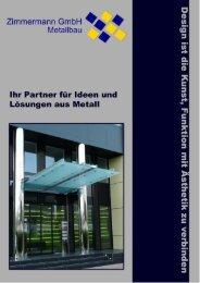 Firmenbeschreibung / Flyer - Ferdinand Zimmermann GmbH ...
