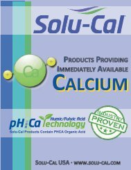 4-Page Solu-Cal Product Line