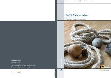 Das ZfP Südwürttemberg - Südwürttembergische Zentren für ...
