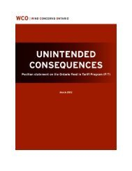 Unintended Consequences - WIND CONCERNS ONTARIO: On ...