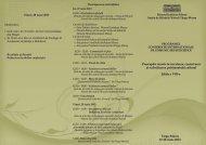 programul conferinţei - Muzeul Judeţean Mureş