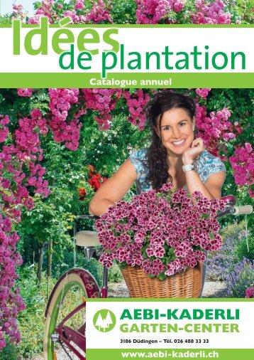 Catalogue annuel Idées de plantation