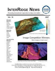 INTERRIDGE NEWS