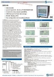 Simex SRD-99 - Blanes Pressure Solutions