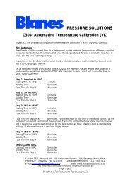 C304 Automating Temperature Calibration - Blanes Pressure ...