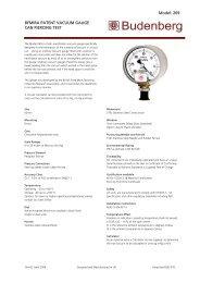 Model: 269 BFMIRA PATENT VACUUM GAUGE CAN PIERCING ...