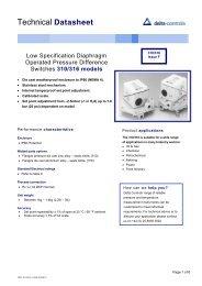 Delta 31016 - Blanes Pressure Solutions