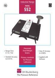 DHB 552 - Blanes Pressure Solutions