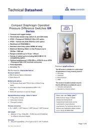 Delta Compact GR36 - Blanes Pressure Solutions