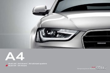 Prospectus Audi Α4 Sedan/Avant