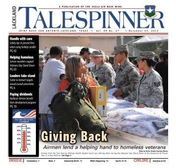Nov. 23, 2012 - San Antonio News