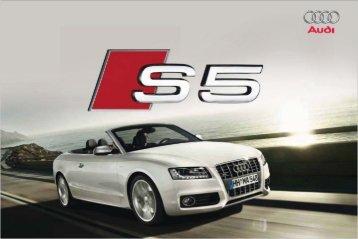 Prospectus Audi S5 Cabriolet (5 MB)