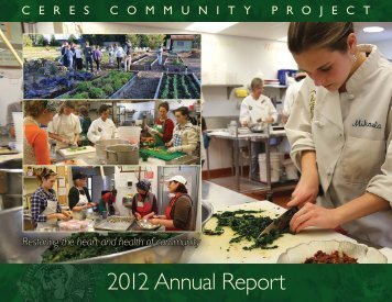 2012 Annual Report - Ceres Community Project