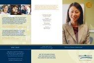 BBA Brochure - Mount Vernon Nazarene University